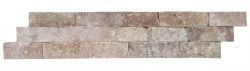wall cladding 09 dark terra cotta (red) 10x50
